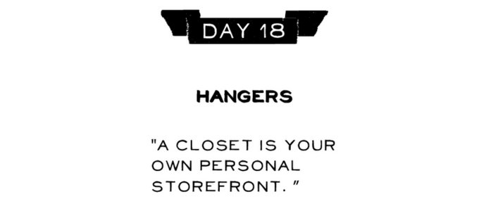 Day 18: Hangers
