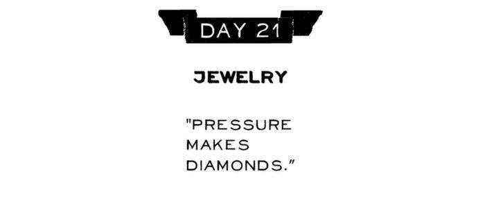 Day 21: Jewelry