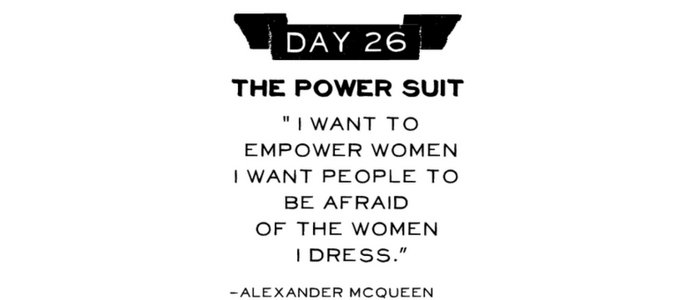 Day 26: Power Suit