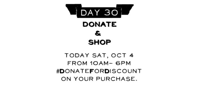 Day 30: DONATE AND REWARD DAY!