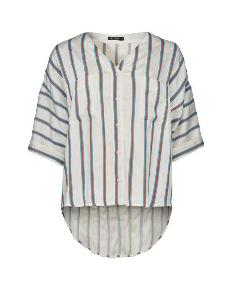 Tiger of Sweden Lava Baseball Blouse