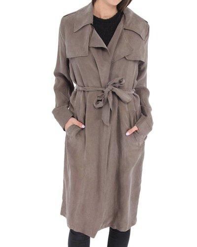Line Trench Coat