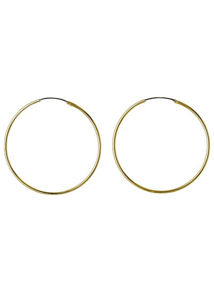 Pilgrim Medium Hoop Earrings