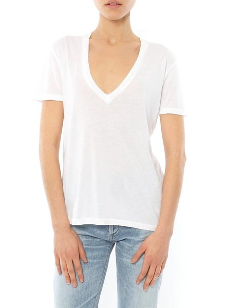Monrow Oversized V Neck T-Shirt