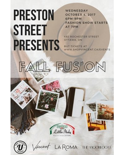 Fall Fusion Event Ticket