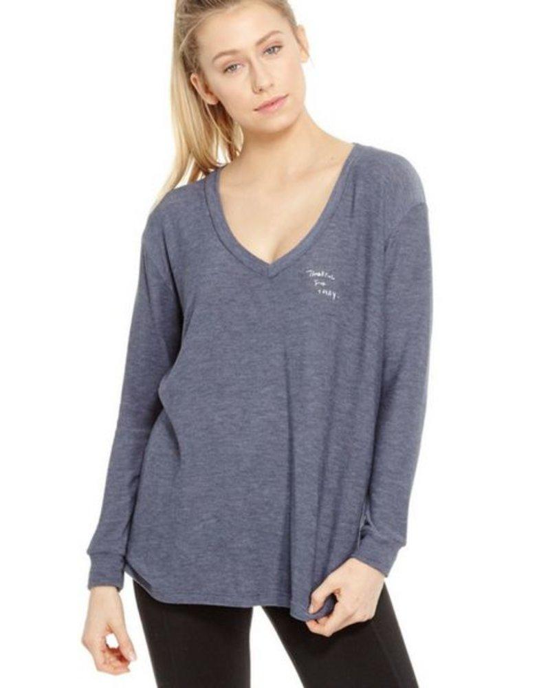 GoodhYouman Robin - L/S VNeck Sweater