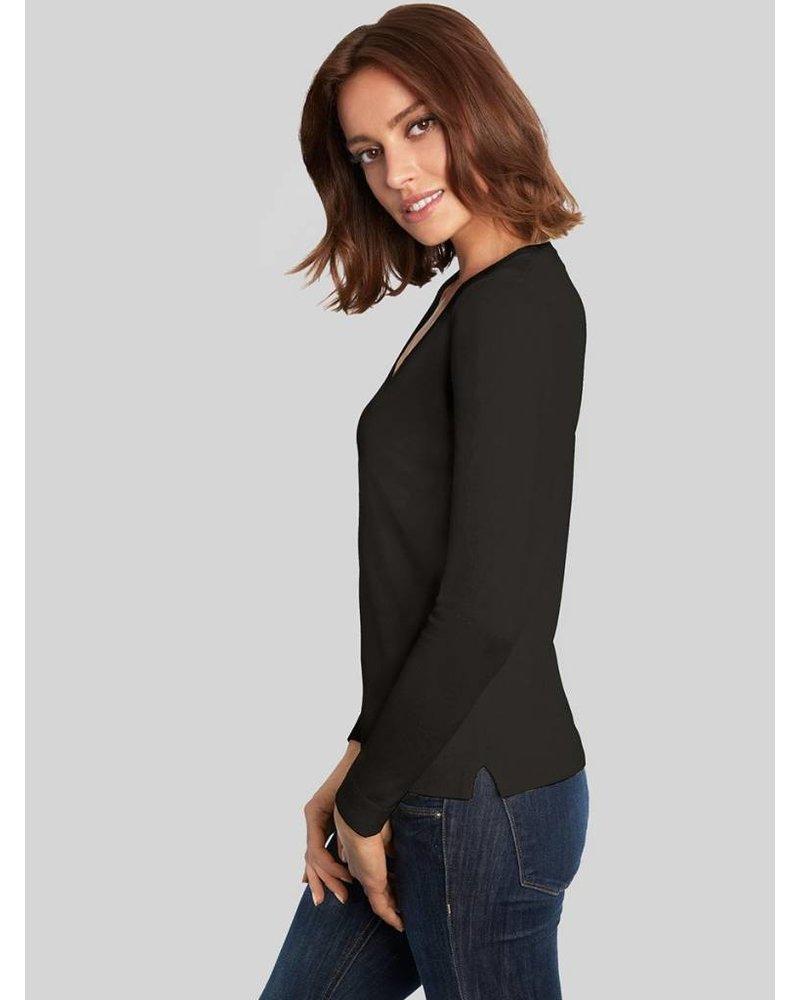 525 America VNeck L/S Sweater