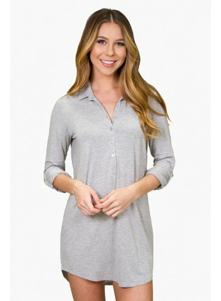 PJ Salvage Modal Basic Nightshirt
