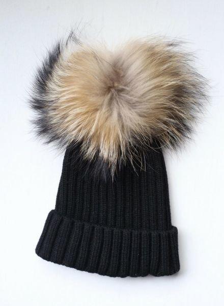 Lyla + Luxe Pom Pom Hat