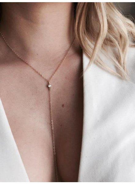 Amarilo Ellie Lariat Necklace