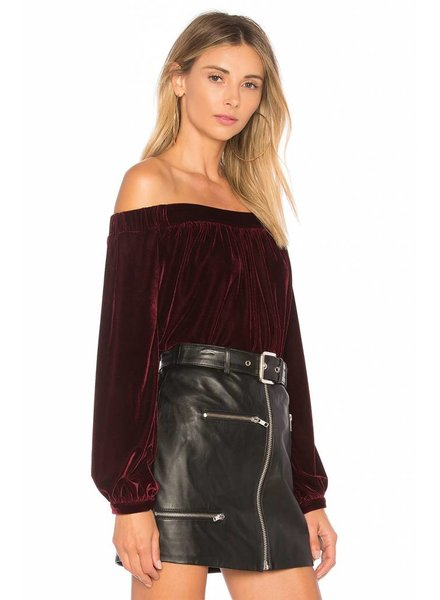 L'Academie The Elastic Off Shoulder