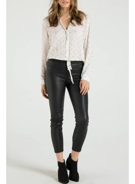 Bella Dahl Tie Bottom Shirt