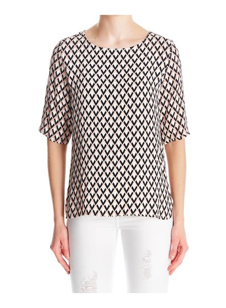 I Love Tyler Madison Madison Print Blouse
