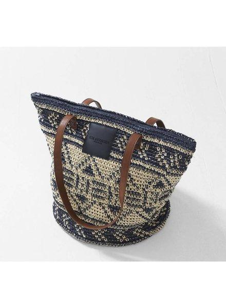 Ilse Jacobsen Straw Beach Bag