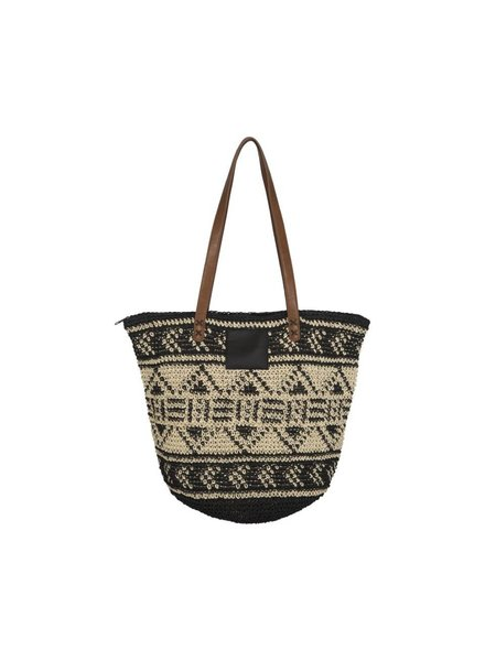 Ilse Jacobsen Straw Beach Bag