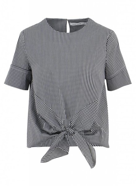 Bishop & Young Front Tie Gingham