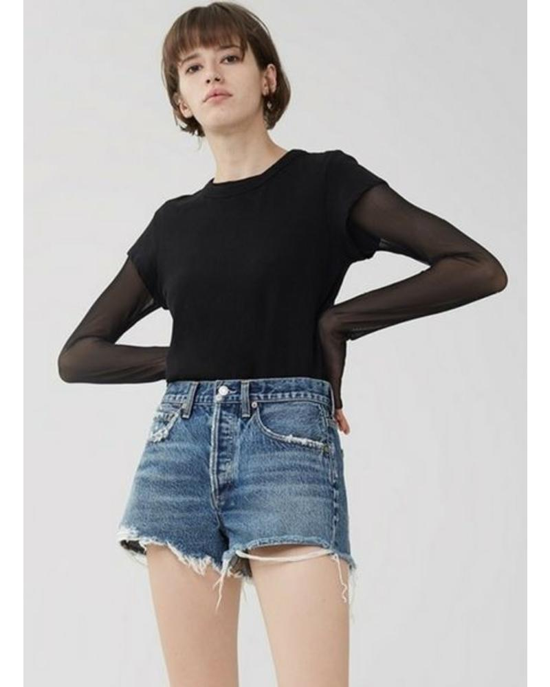 Agolde Parker Vintage Cut Off Shorts