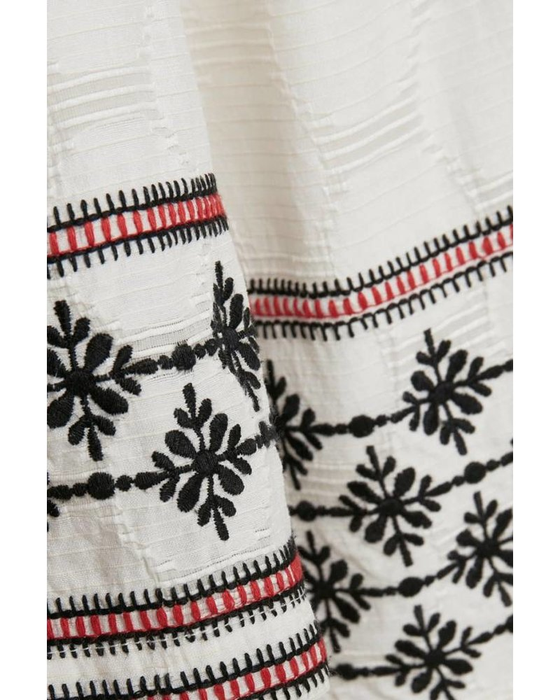 Part Two Kristal Embroidered Blouse