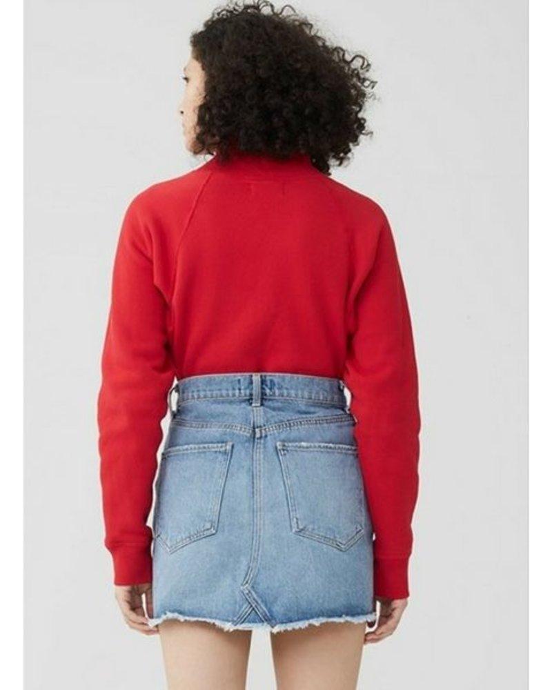 Agolde Quinn Mini Skirt