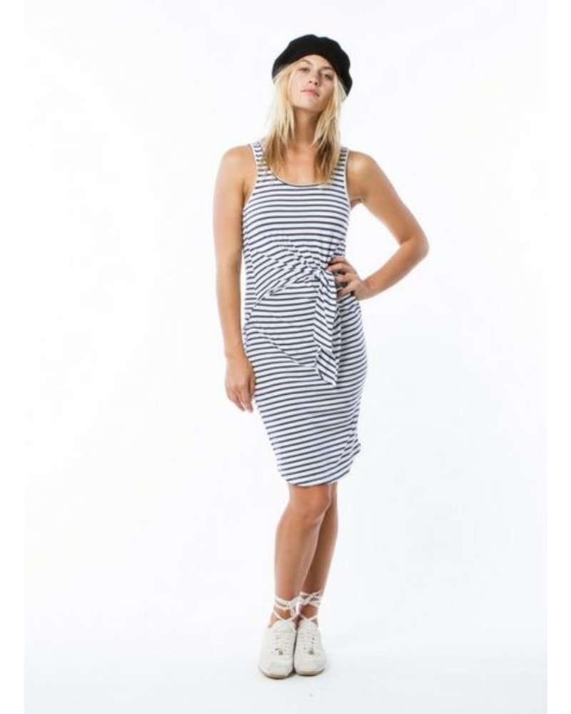 Monrow Stripe Dress