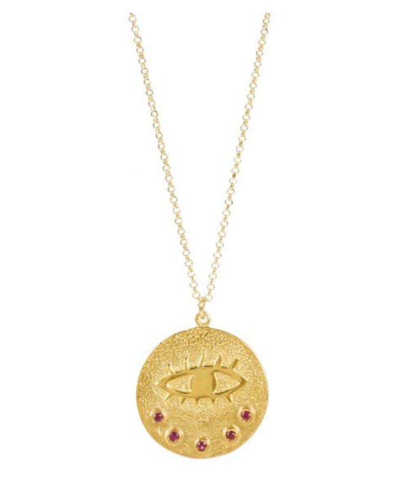 Hermina Wristwear Kressida Large Pendant Necklace