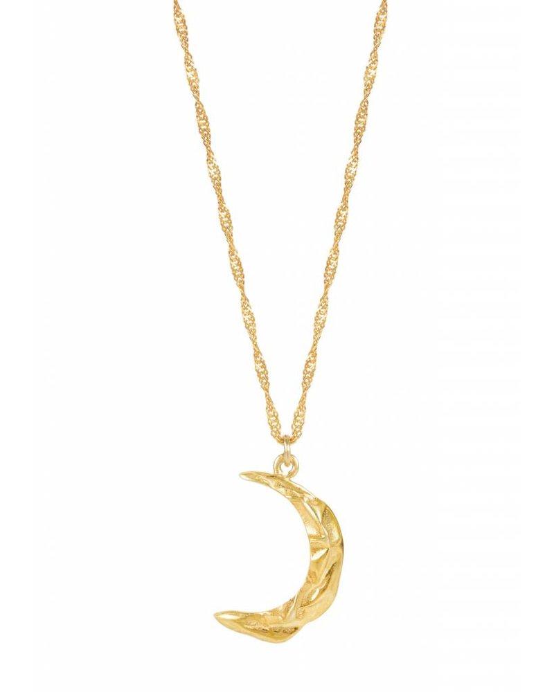 Hermina Wristwear Melies Moon Necklace