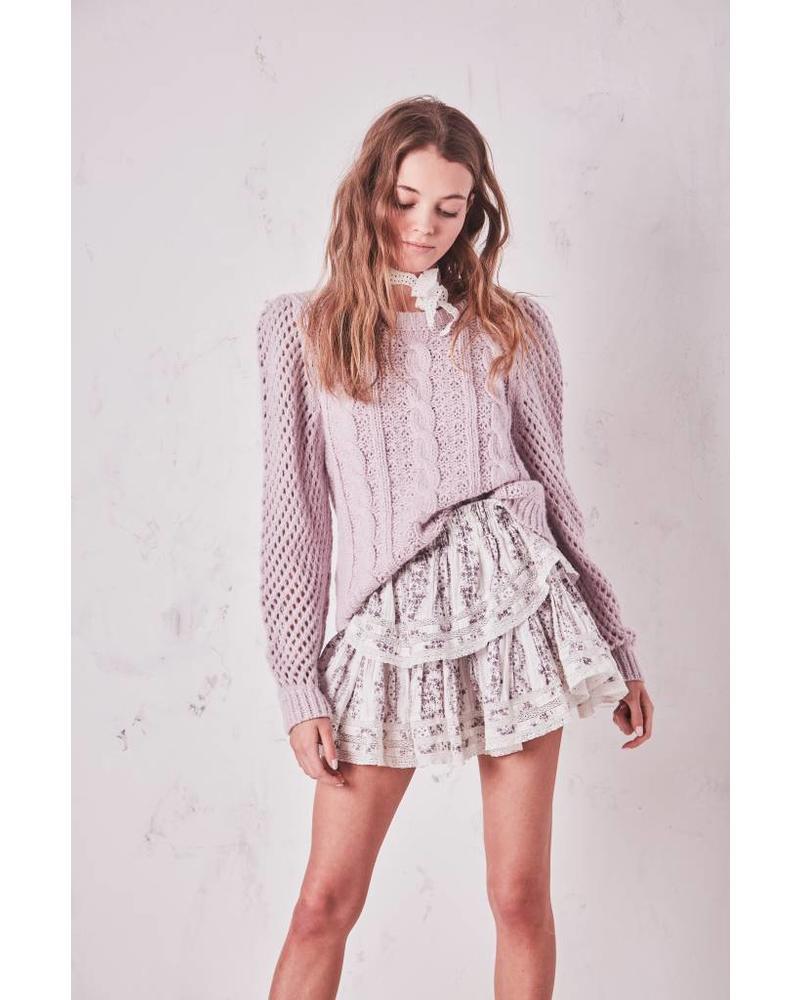 LoveShackFancy Ruffle Mini Skirt