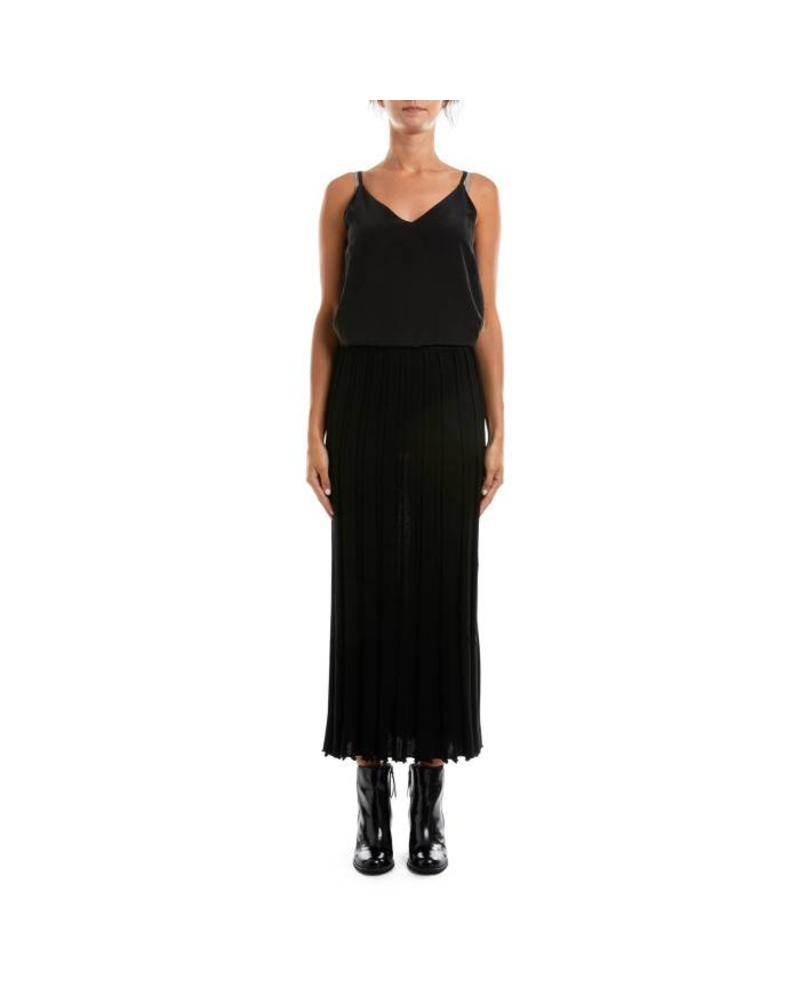 Cable Melbourne Claire Wool Pleat Skirt