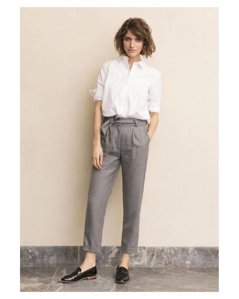 Part Two Lacey Pleated Tie Pant