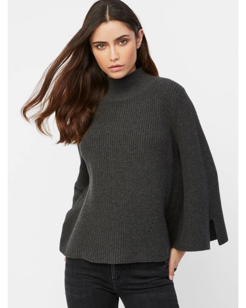 525 America Cotton Mock Neck Sweater