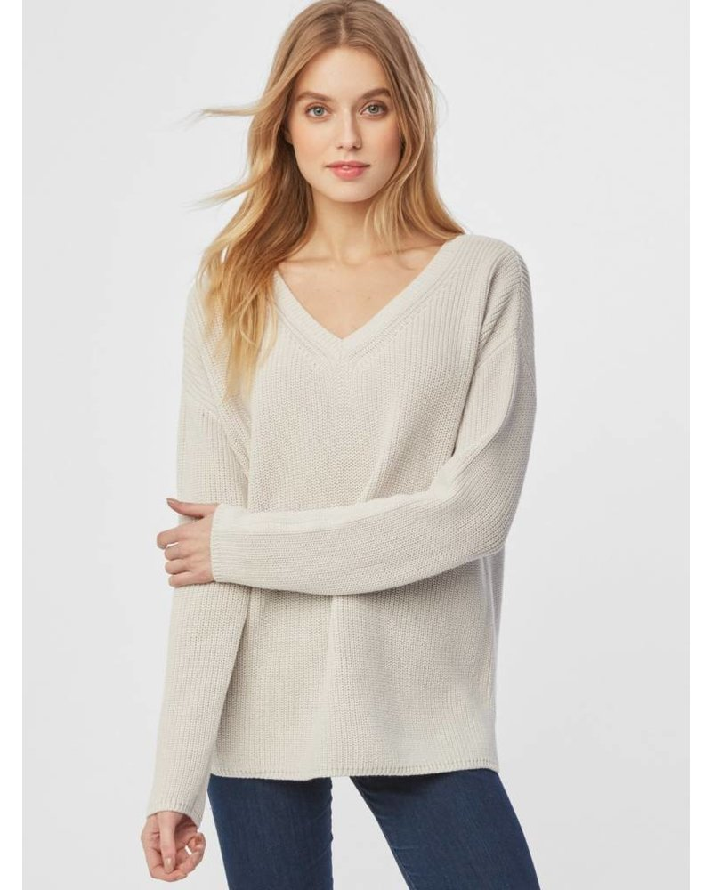 525 America Cotton V-Neck Sweater