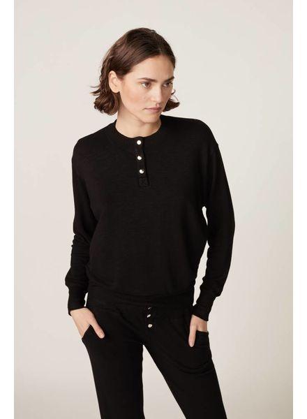 Monrow Henley Sweatshirt