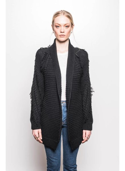 Line Antione Open Cardigan
