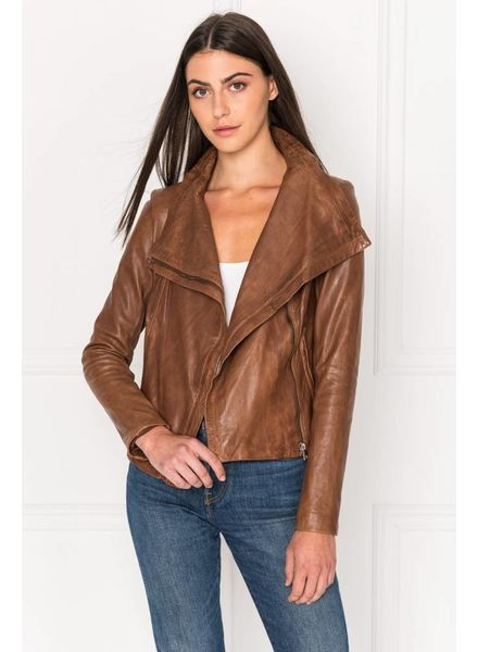 La Marque Talia Leather Coat