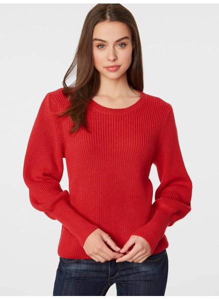 525 America Bell Sleeve Cotton Sweater
