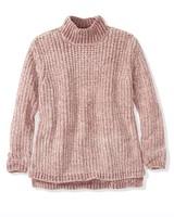 525 America Chenille Mock Neck Sweater