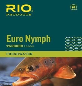 Rio Products Intl. Inc. Rio Euro Nymph Leader with Tippet Ring