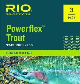 Rio Products Intl. Inc. Rio Powerflex Trout Leader (3-Pack)