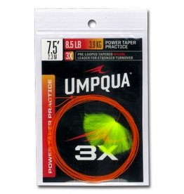Umpqua Feather Merchants Umpqua Practice Leader Power Taper 7.5ft 3X