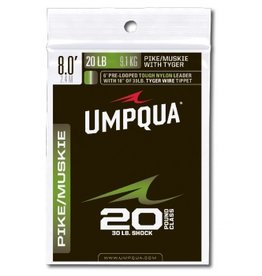 Umpqua Feather Merchants Umpqua Pike/Muskie Leader with TyGer Wire Tip