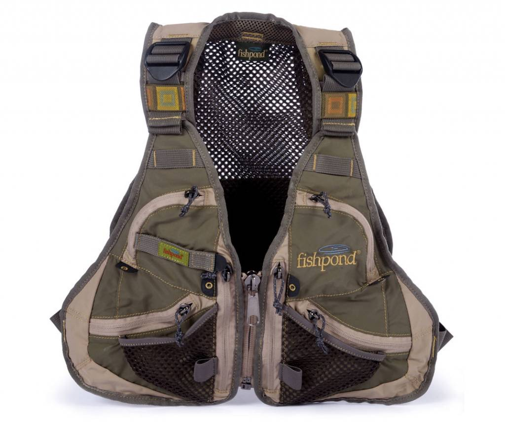Fishpond Fishpond Elk River Youth Vest - Pine