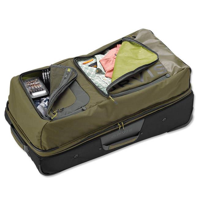 Orvis Orvis Safe Passage Vented Roll Duffle - Olive/Gray
