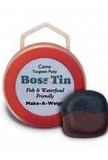 Anglers Accessories Boss Tin Camo Bi-Colored Tungsten Putty