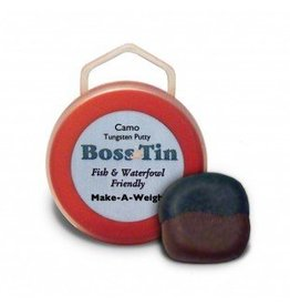Anglers Accessories Boss Tin Camo Bi-Colored Tungsten Putty