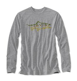 Orvis Orvis Brown Trout LS Crewneck Shirt
