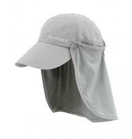 Simms Fishing Products Simms Bugstopper Sunshield Hat Smoke