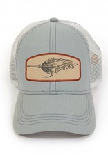 Fishpond Fishpond Bunny Fly Cap Light Slate Trucker