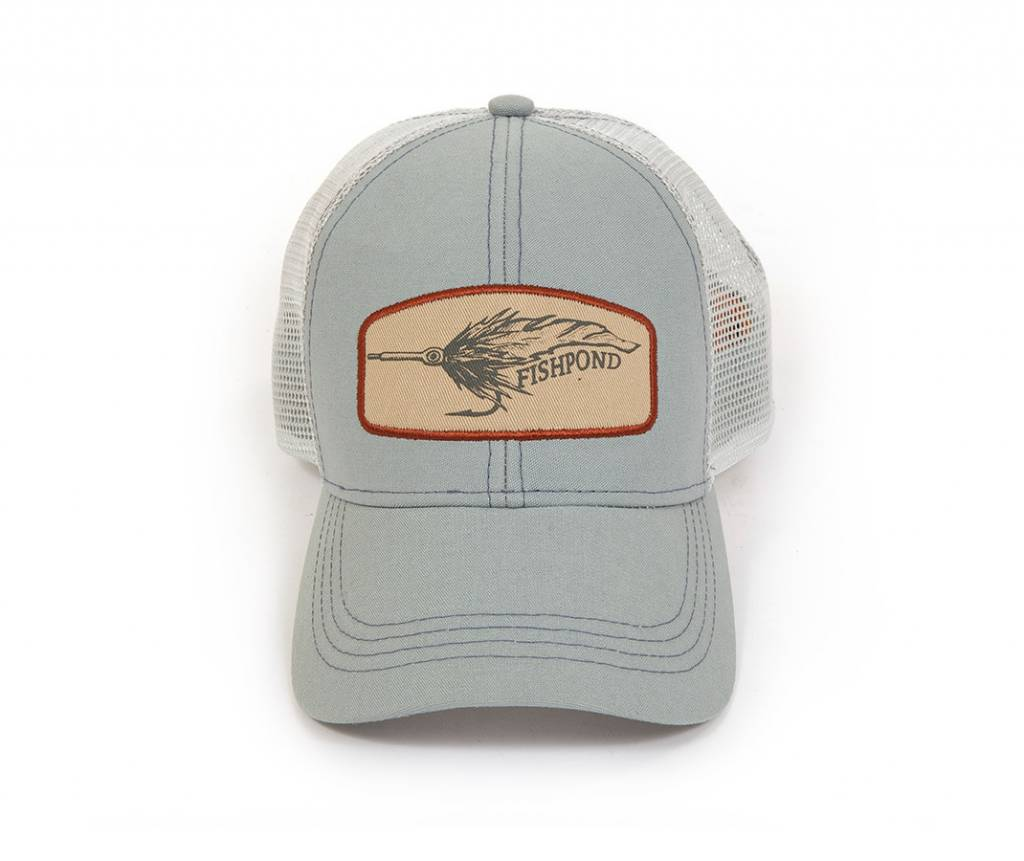 Fishpond Fishpond Bunny Fly Cap Light Slate Trucker
