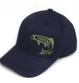 Fishpond Fishpond Early Rise Flexfit Hat-Navy
