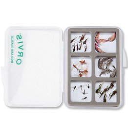Orvis Orvis Super Slim Shirt Pocket Fly Box - 6 Compartment